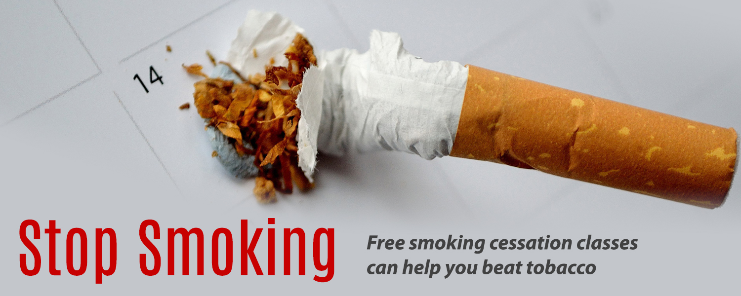 Stop Smoking - Free smoking cessation classes can help you beat tobacco