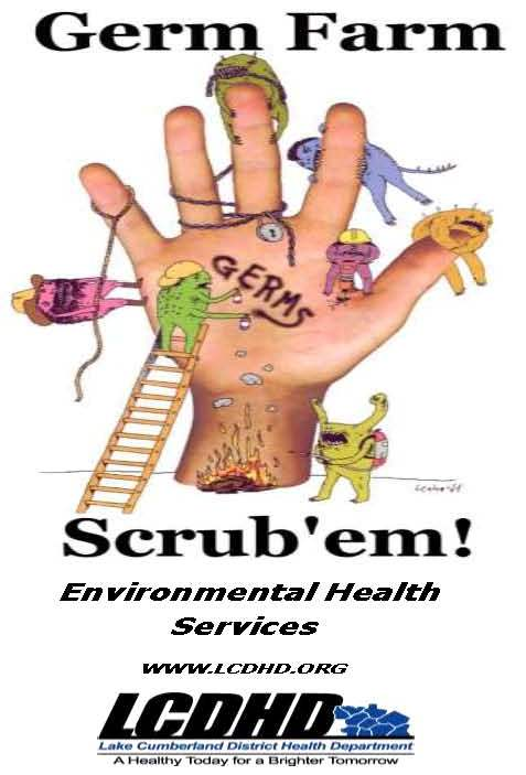 Germ Farm — Scrub 'em! Environmental Health Services - LCDHD.org