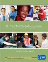 CDC Scorecard