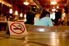 Picture of a 'no smoking' sign.