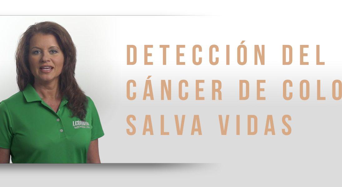 Detección del cáncer de colon salva vidas