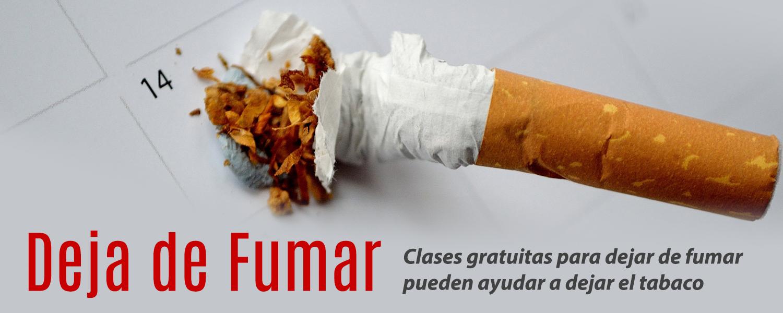 Deja de fumar: Clases gratuitas para dejar de fumar pueden ayudar a dejar el tabaco