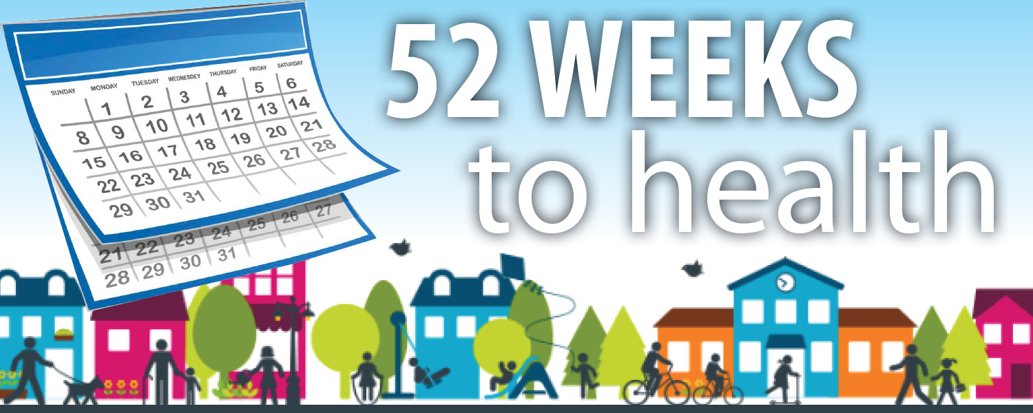 52 Weeks to Health: Press Release Series