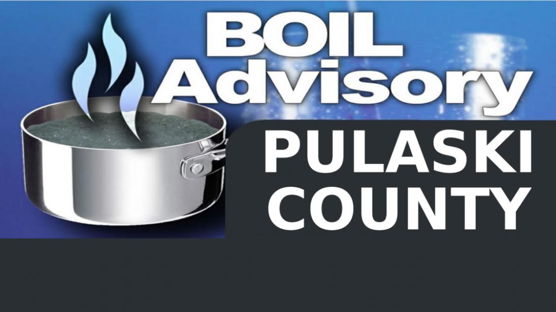 Advisory has been lifted 5 30 19 12:19pm: Pulaski County